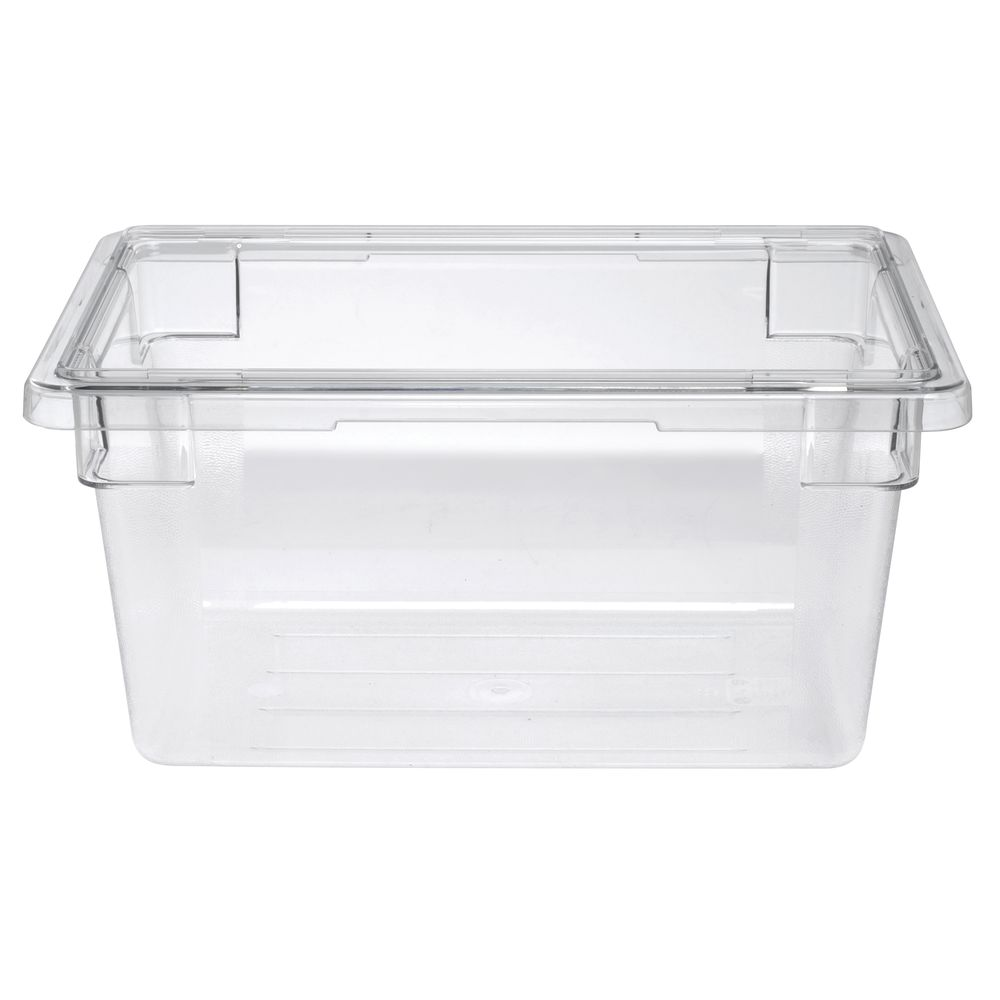 Cambro 4 34 Gal Clear Plastic Food Storage Container 18L x 12W x 9D