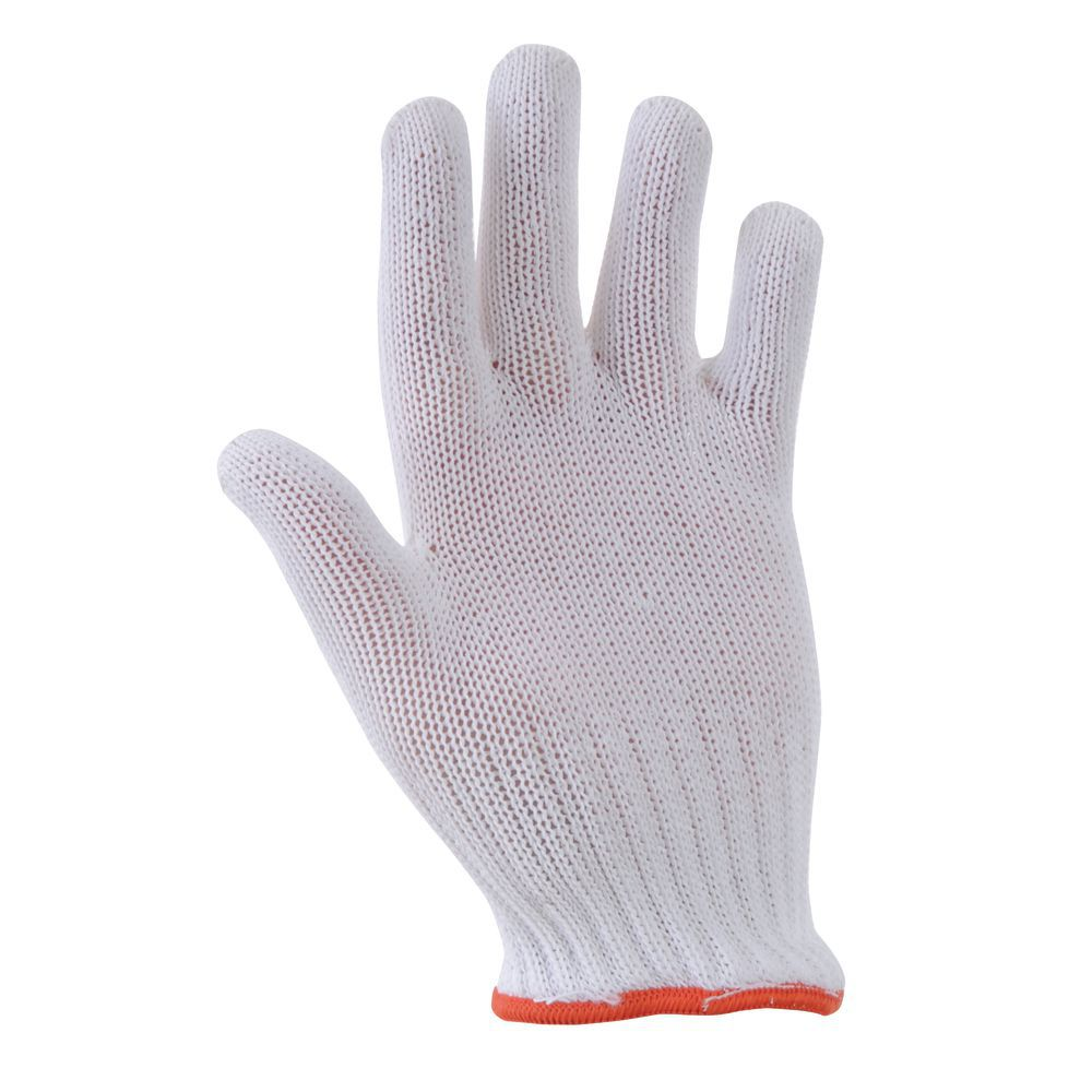 Hubert Protective Gloves White Small ANSI Level 4 Heavy Duty Ambidextrous