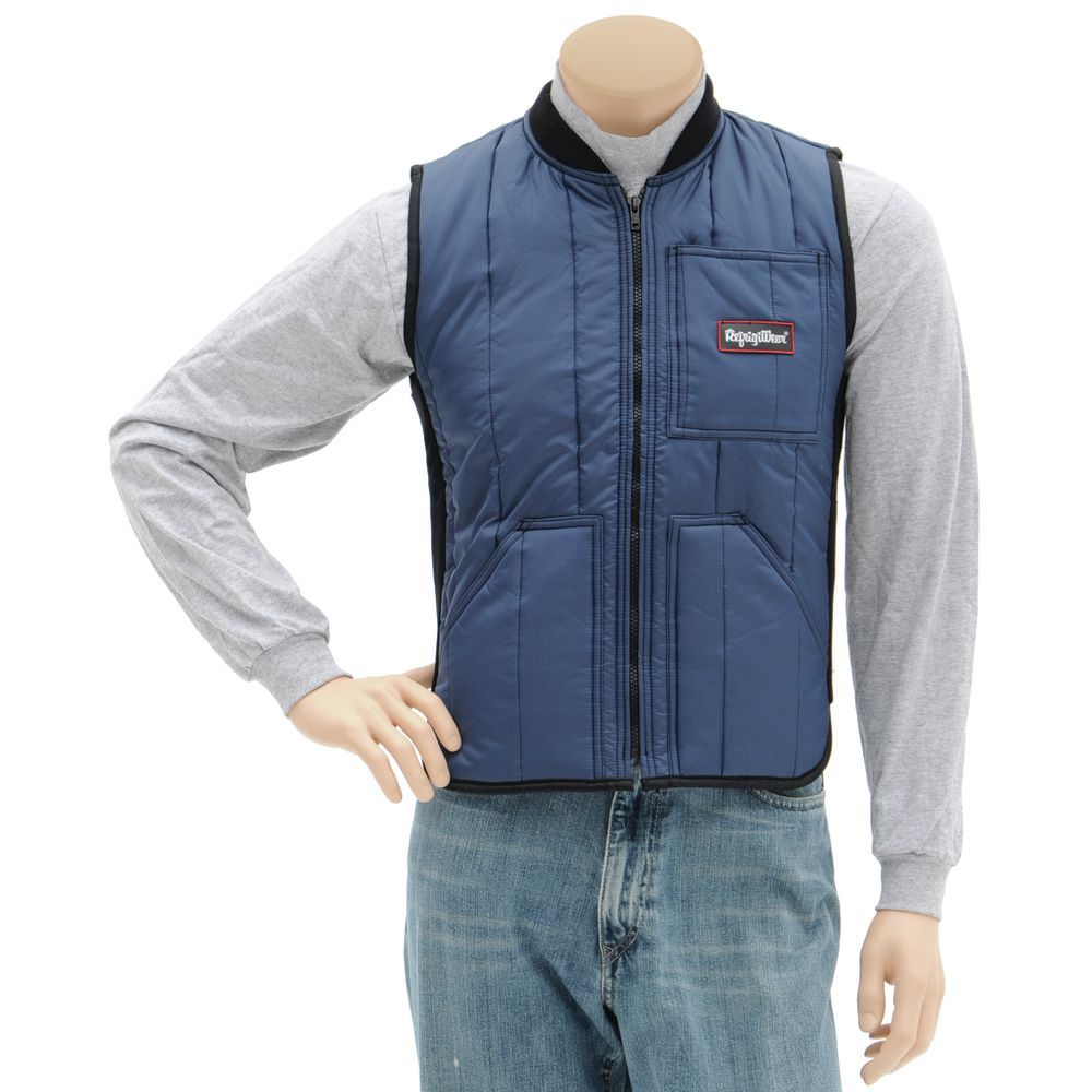 VEST, INSULATED , NAVY, SMALL