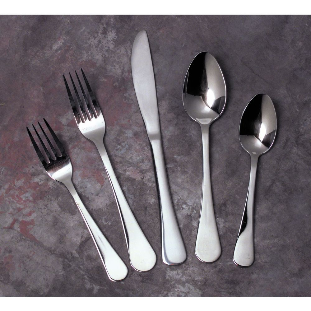Venice Teaspoon 18/8 Stainless Steel Silverware Extra Heavyweight