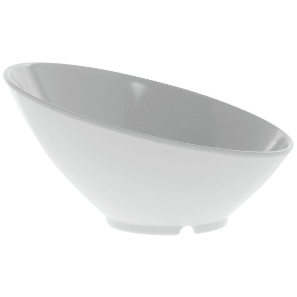 """G.E.T. Melamine Bowl Cascading Round in White 24 oz  9 1/4""""D  x  4 3/4""""H"""