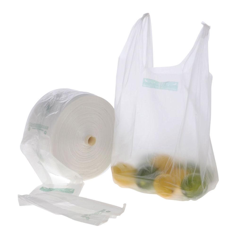 Clear T Shirt Plastic Produce Roll Bag 7 1 2 Quot W X 20 Quot H