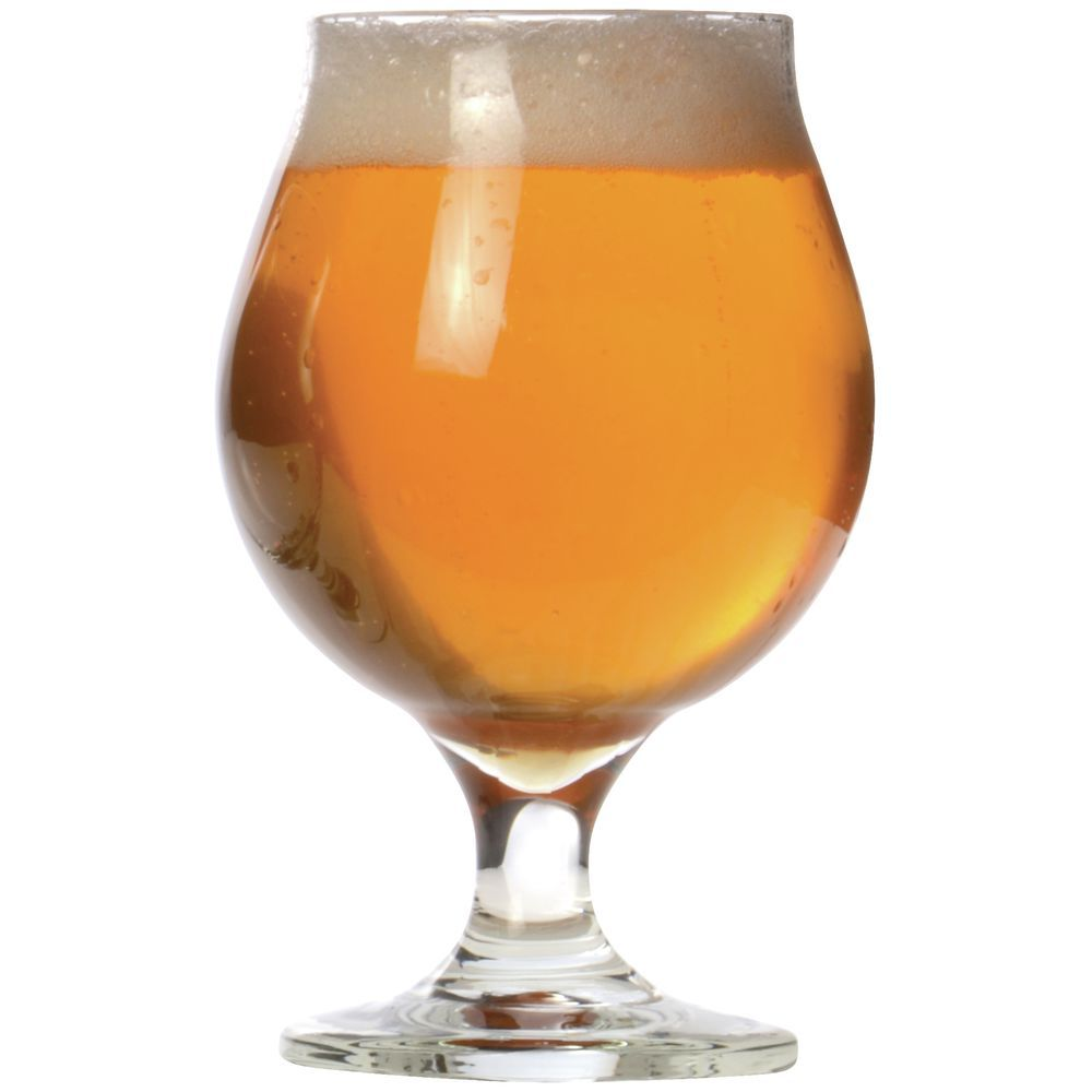 GLASS, BEER, BELGIAN, 16 OZ