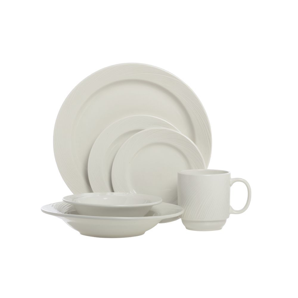 """  World Porcelain Dinnerware is Bright White 10 5/8"""""""