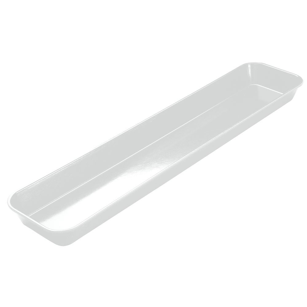 cambro white fiberglass merchandising tray 30 l x 6 w x 2 h