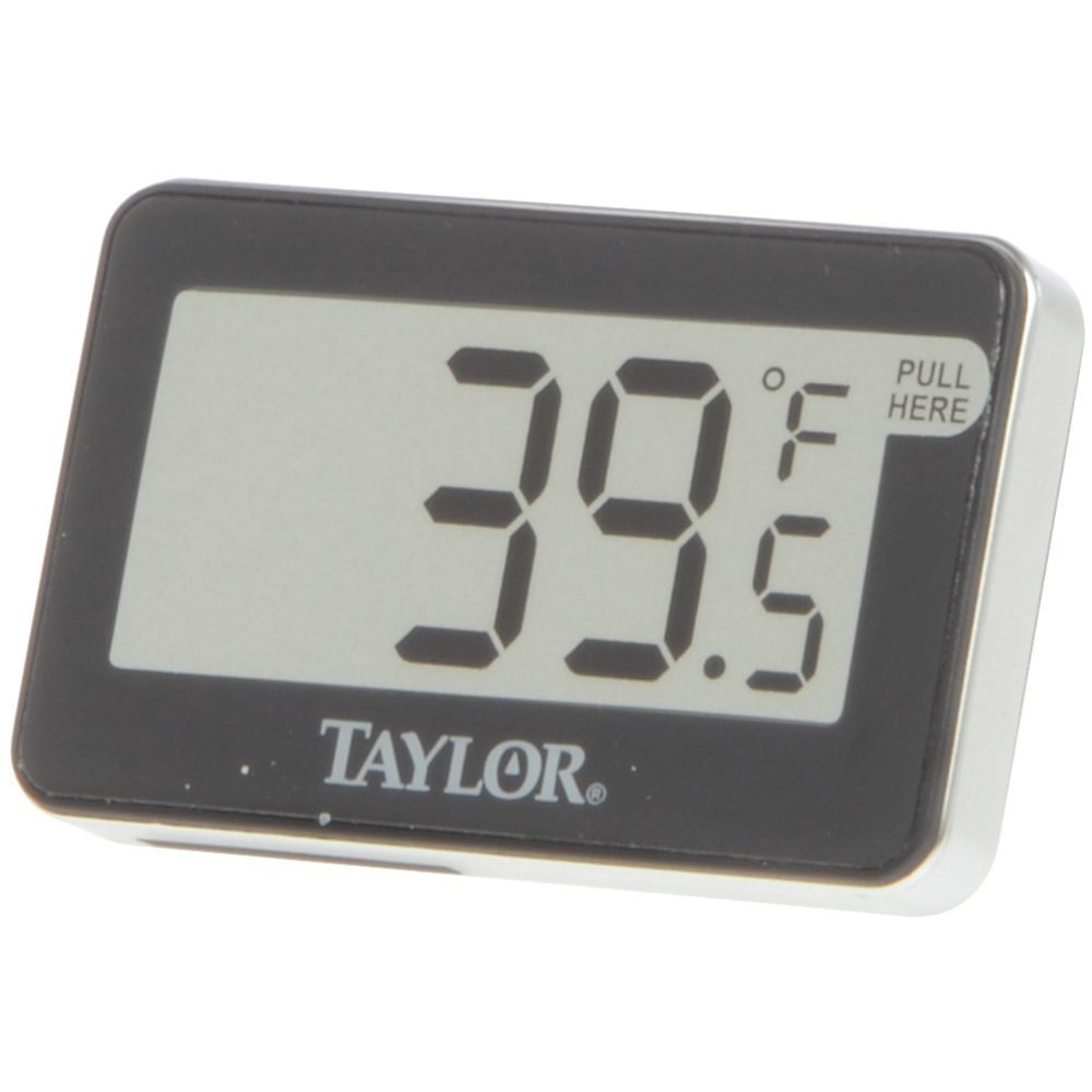 taylor digital refrigerator and freezer thermometer