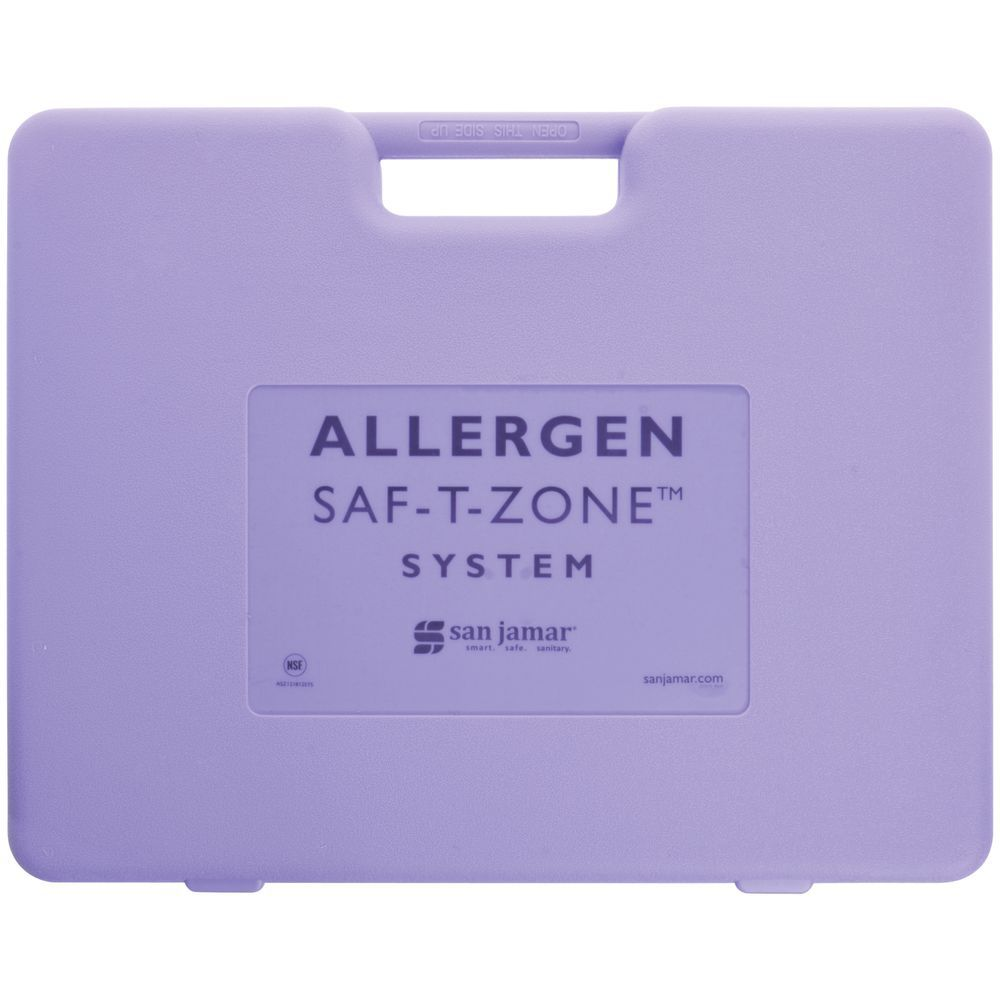 San Jamar Saf-T-Zone Cutting Boards System