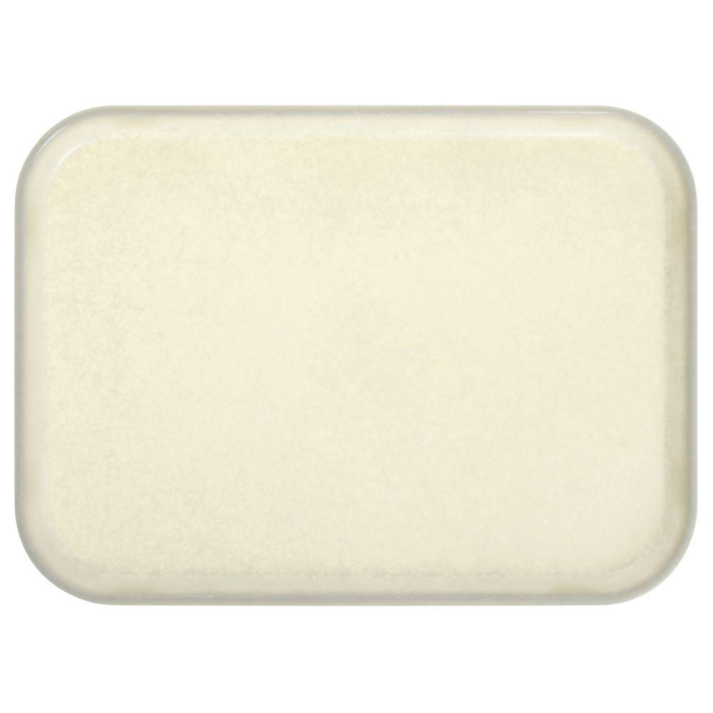 """Cambro Fiberglass Tray Cream Antique Parchment 16""""L x 12""""W"""
