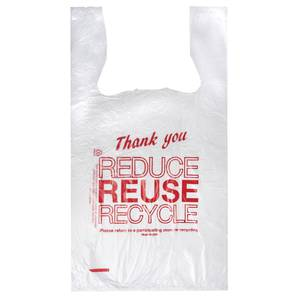 BAG, THANK YOU, 11.5 X 6.5 X 21.5, PLASTIC