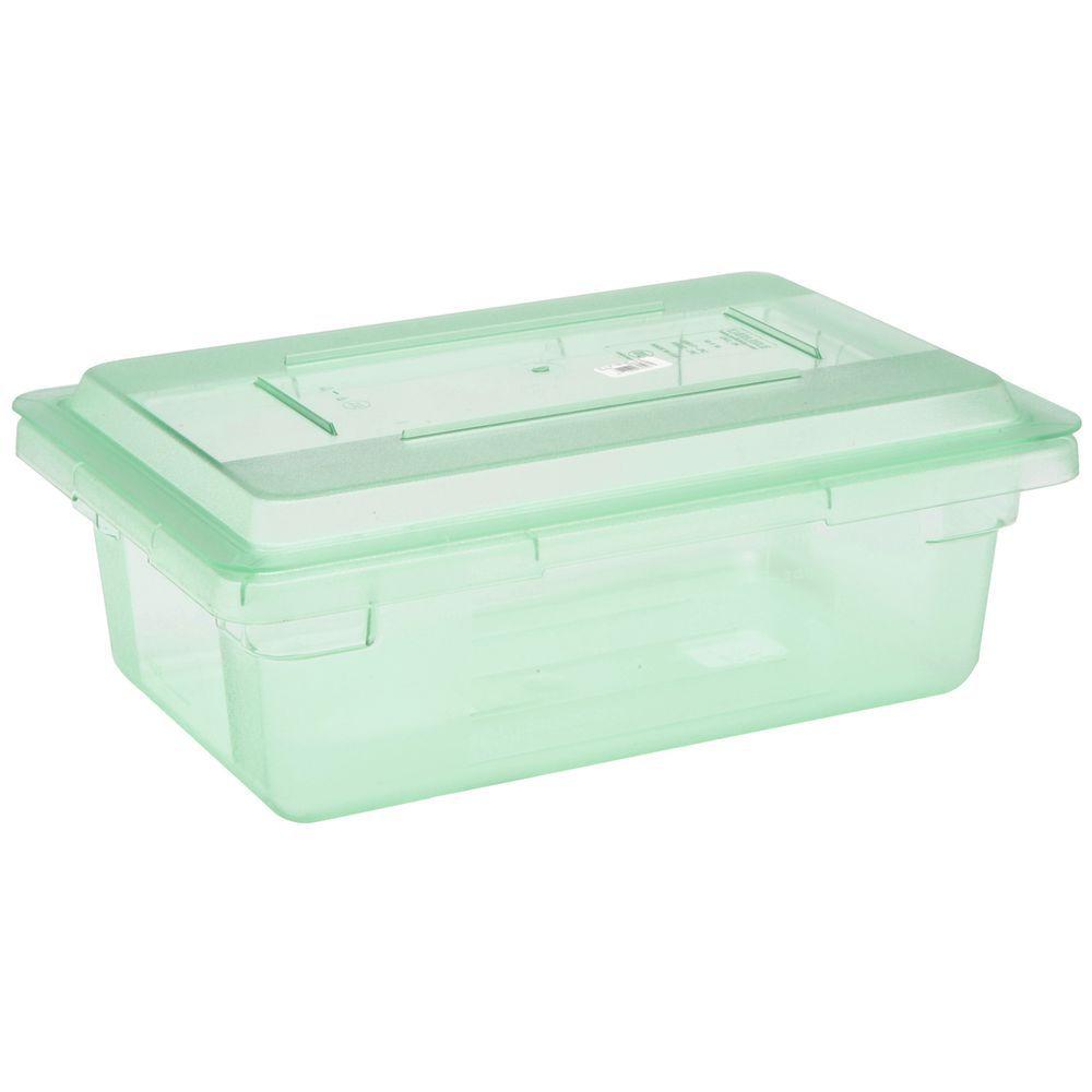 "CarlisleSpectrum Colored Coded Food Storage Box 18""L x 12""W x 6""D Green"