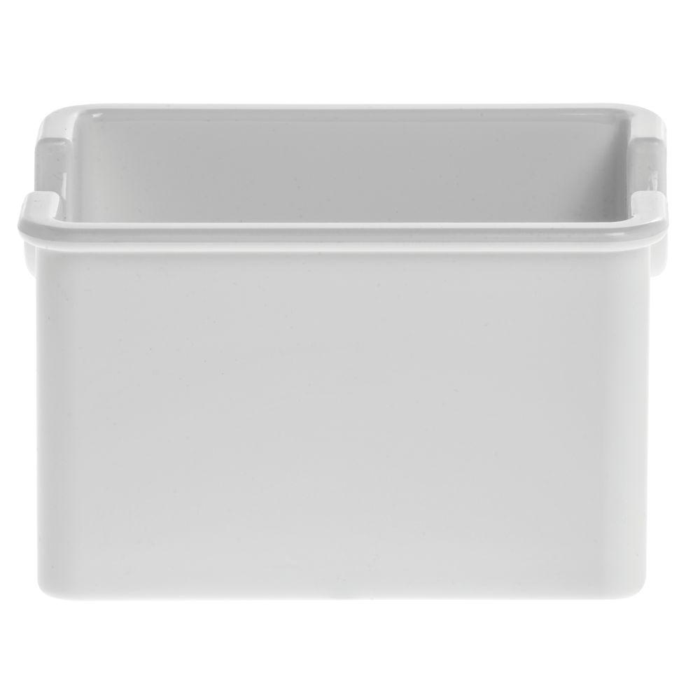 Carlisle® White SAN Plastic Sugar Packet Caddy - 3 7/16\