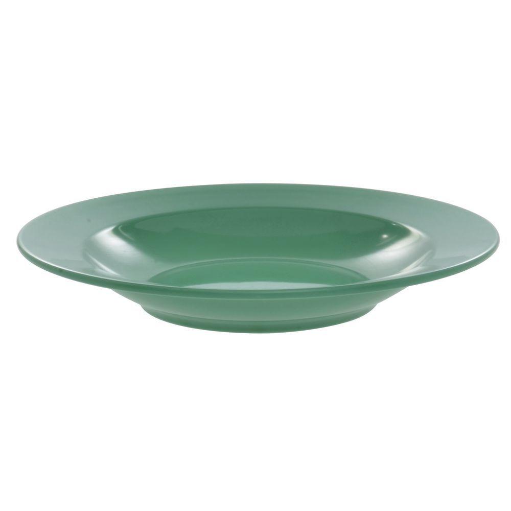 Elite Rio Mid-Rim Pasta or Soup Bowl 24 Oz Autumn Green Melamine