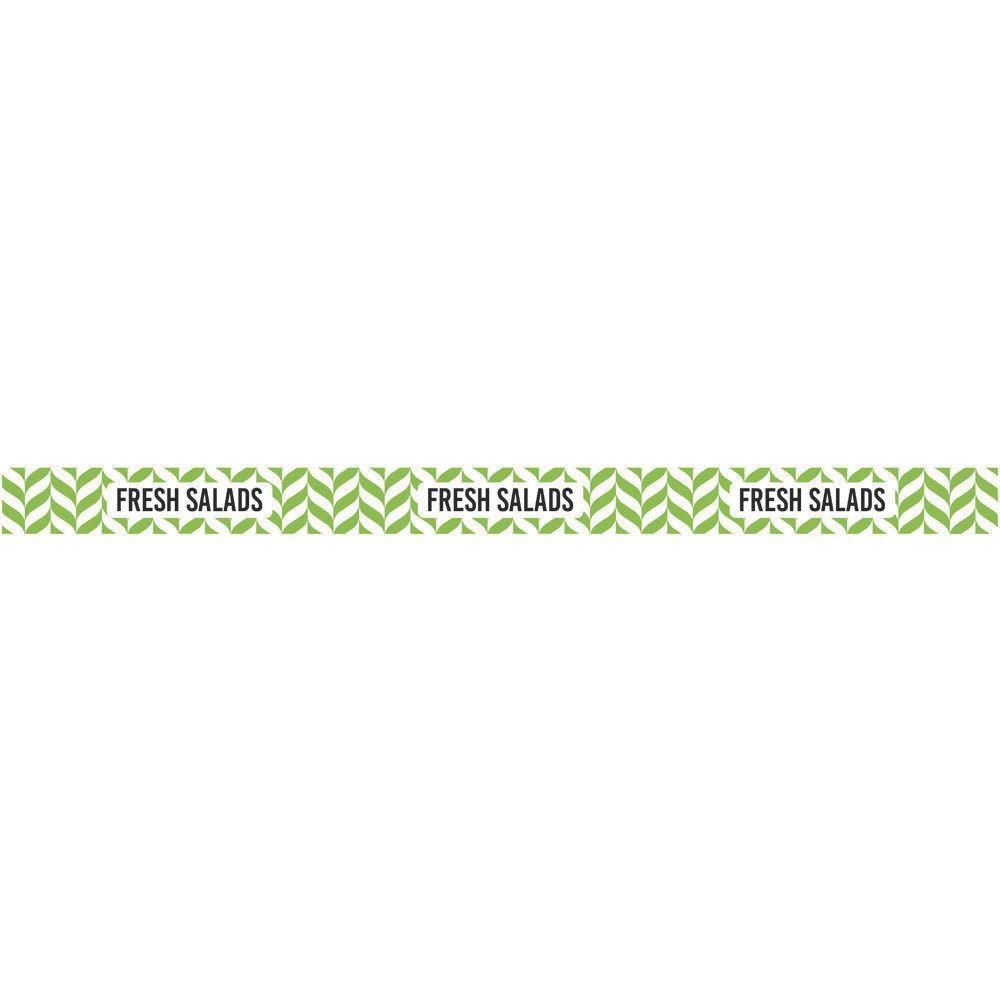 "Merchandising Bandit Labels Fresh Salad 13 3/4""L x 1""H"