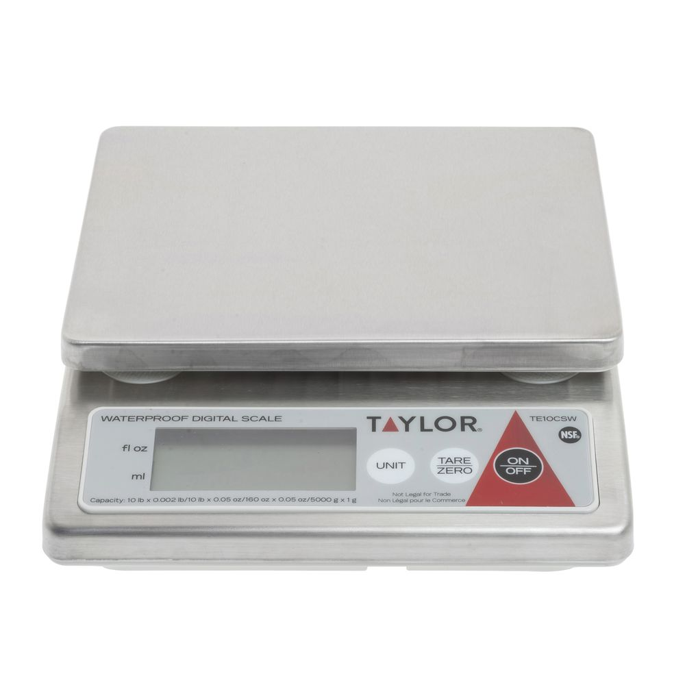 Taylor Precision Te10csw 10 Pound Water Resistant Digital