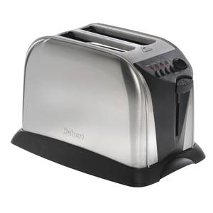 TOASTER, 2 SLOT POP-UP, STAINLESS