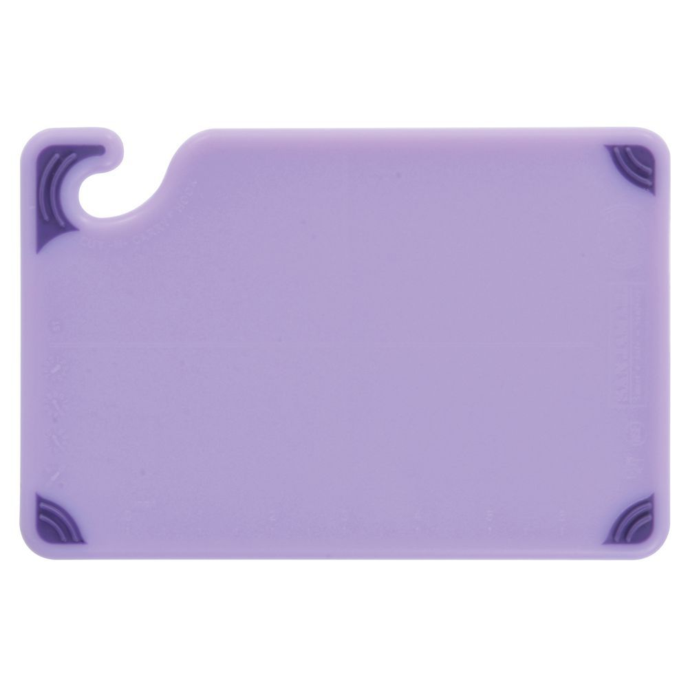 "San Jamar Saf-T-Zone Cutting Boards 6""L x 9""W x 3/8"""