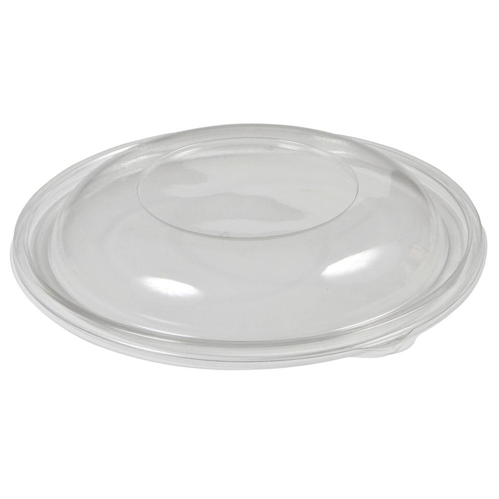 """Clear Plastic Dome Lids Fit 5 1/2""""Dia Bowls"""
