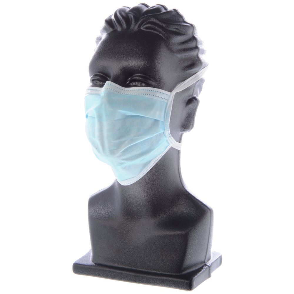 MASK, FACE, DISPOSABLE, TIE BACK