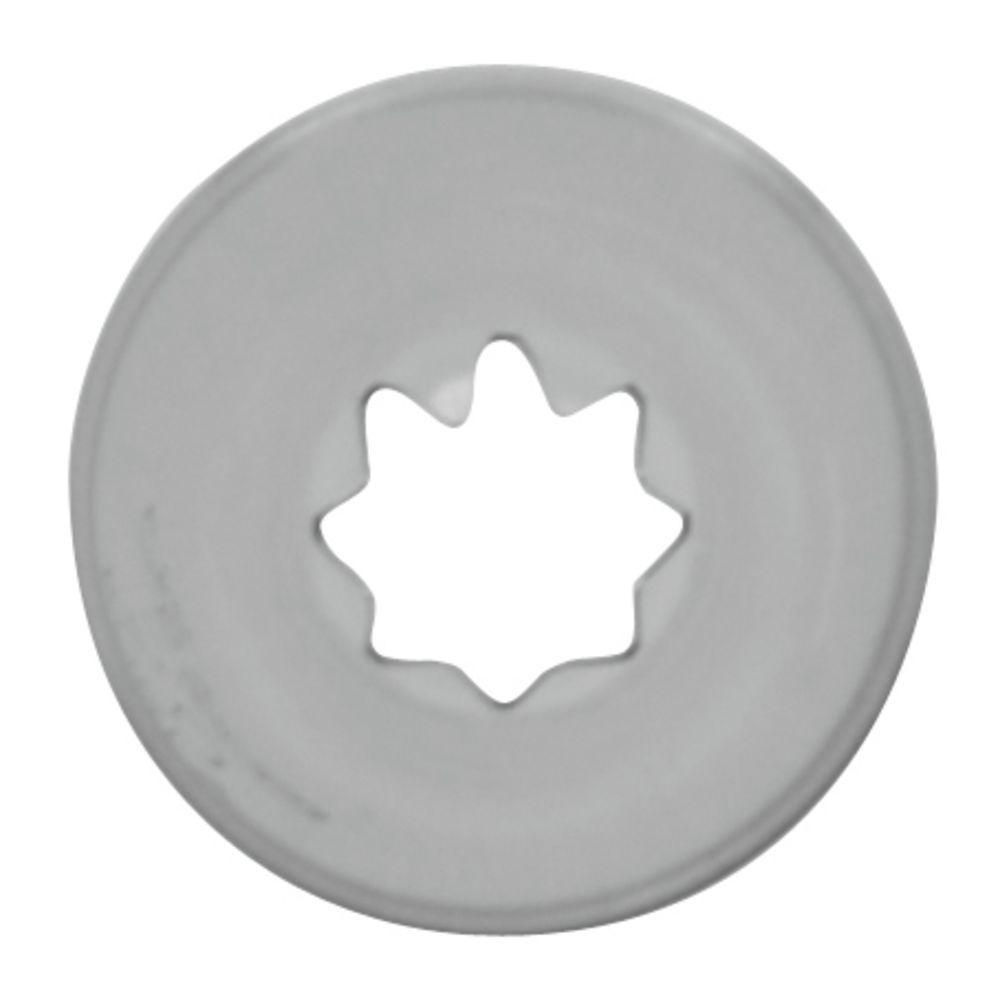 Pastry Tip Open Star #20 Steel