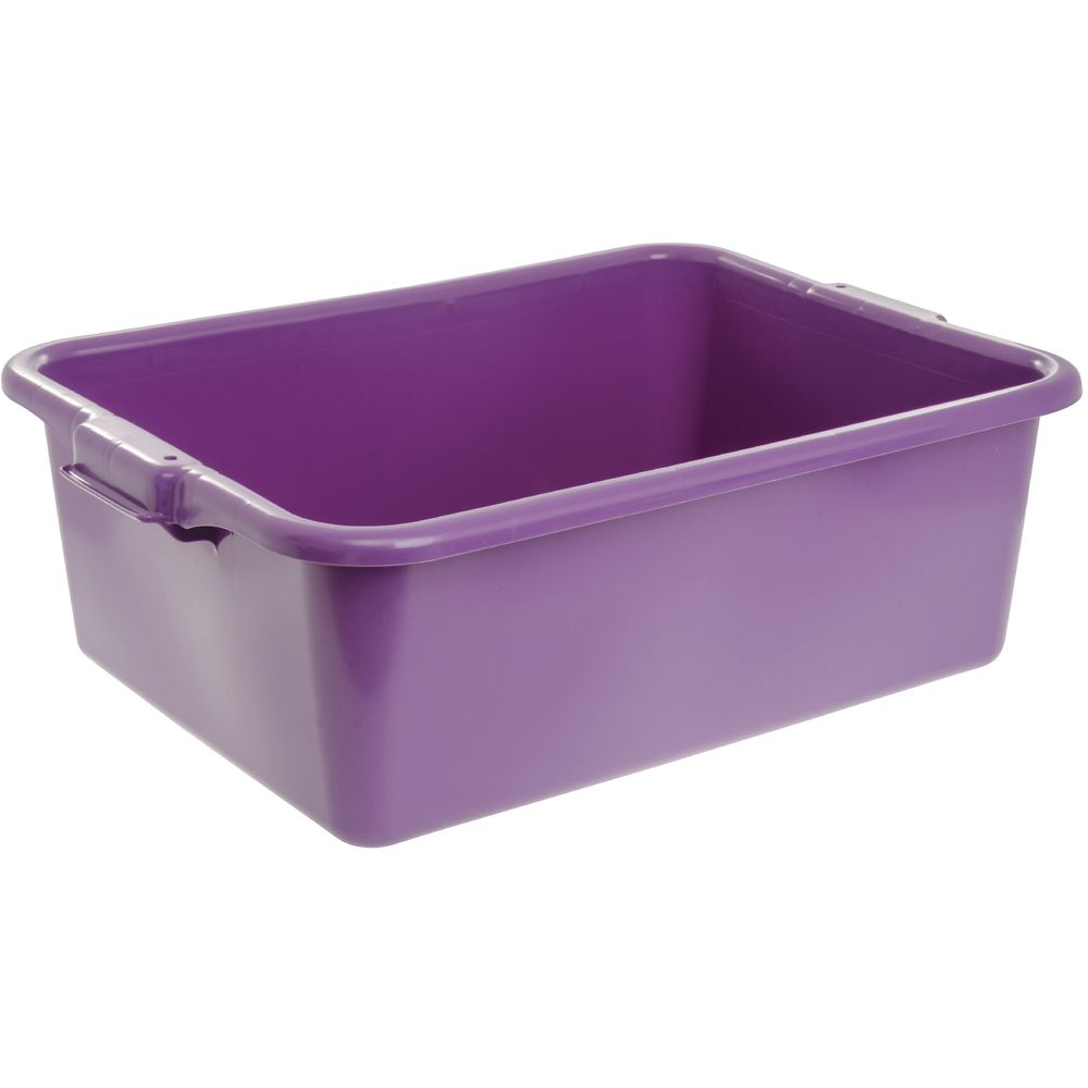 "BOX, COLORMATE, FOOD, 7""H, POLY, PURPLE"