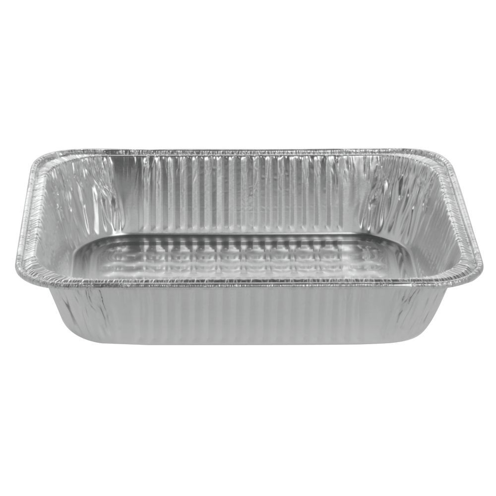 """Half Size Aluminum Foil Steam Table Pan 12 5/8""""L x 10 7/16""""W x 2 3/4""""H"""