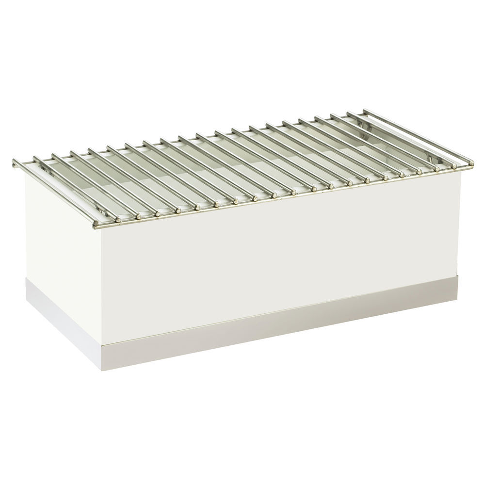 CHAFER ALTERNATIVE, LUXE, RECTANGLE, SILVER
