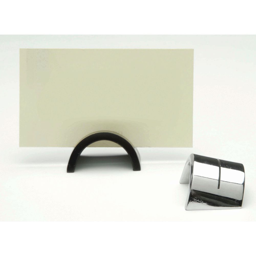 "Tabletop Sign Holders Black Hollow Dome 3/4""H"