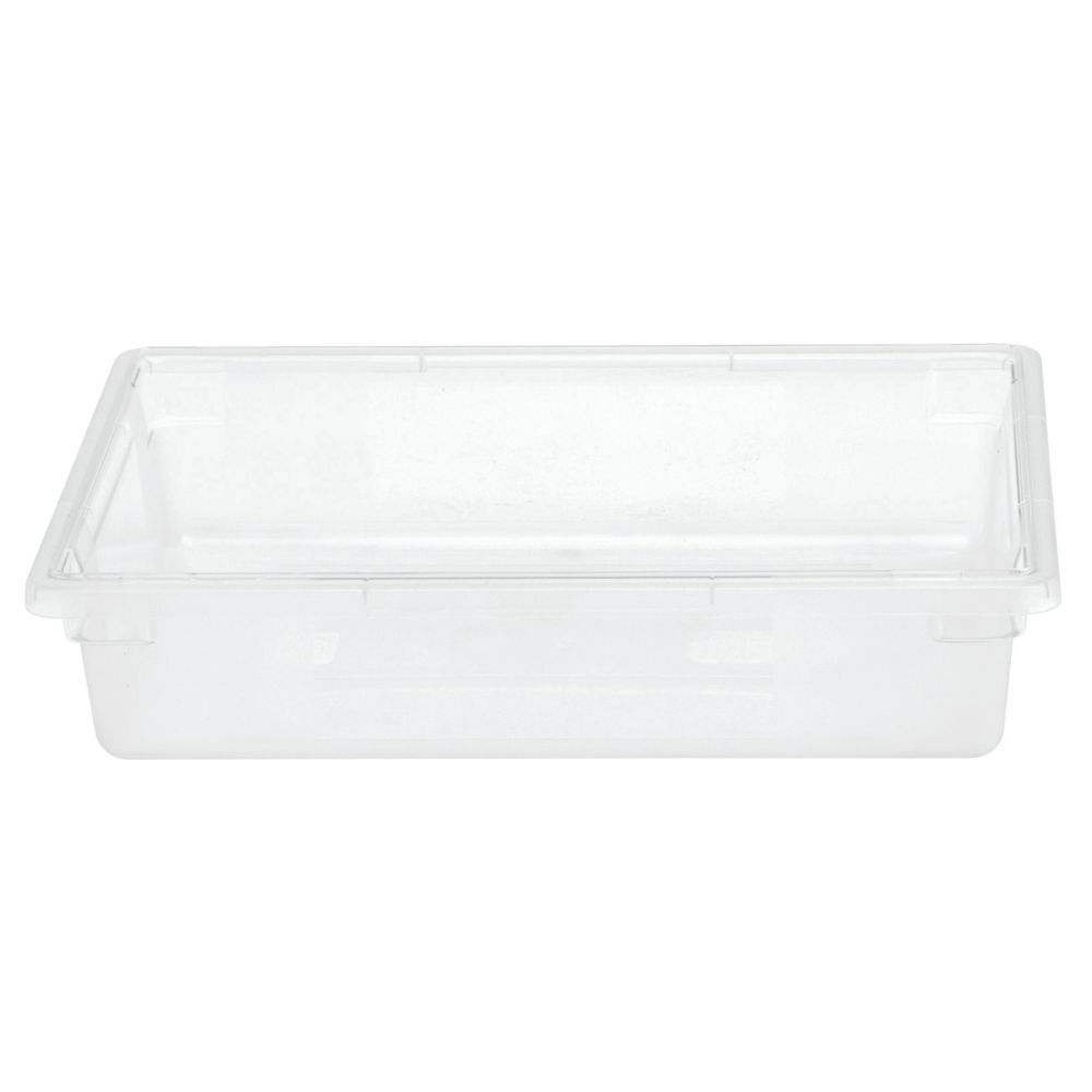 "FOOD BOX, CLEAR, 18X26X6"", HUBERT"