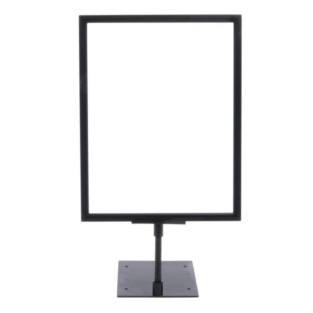 Black Plastic Sign Frame With Shovel Base 4 Stem 8 12l X 11h