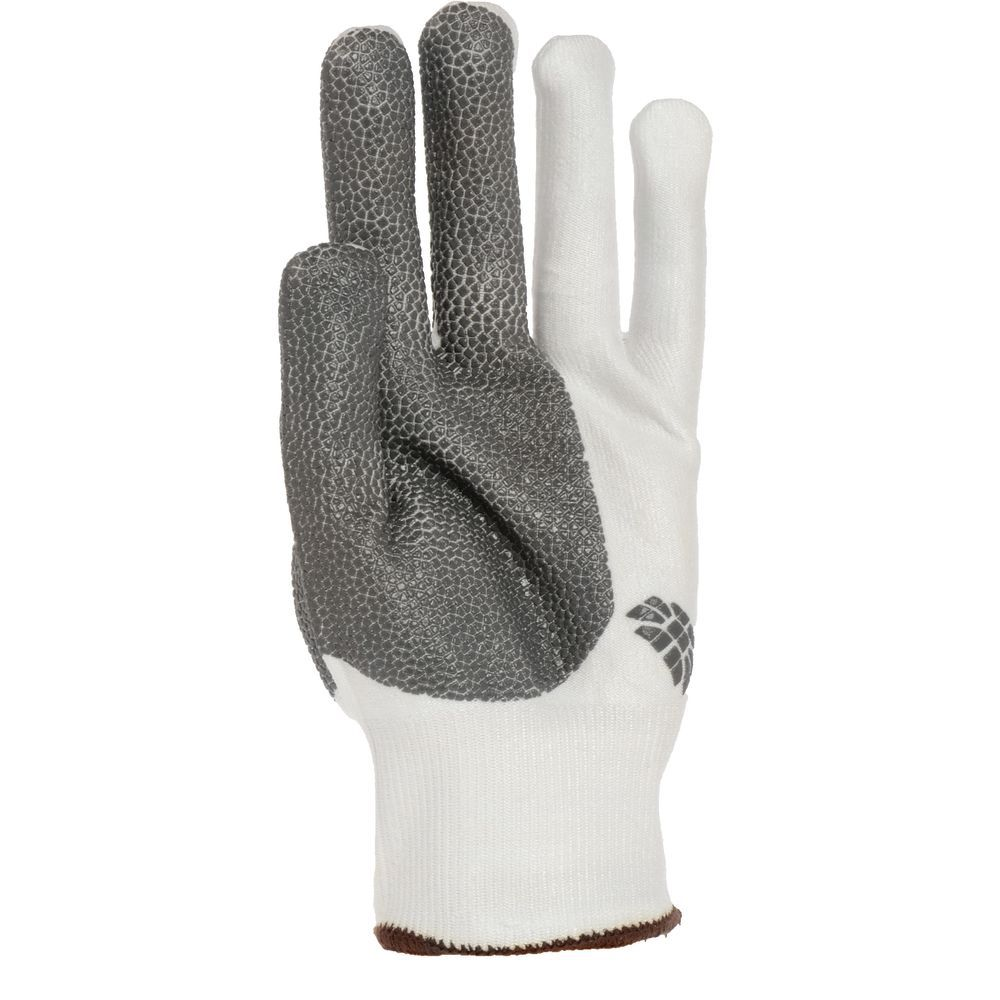 HexArmor NXT Cut Resistant Glove White With Grey Grip Medium Ambidextrous