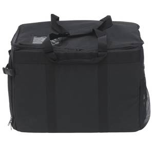 "Ultimate Insulated Food Delivery Bag with Drink Carrier  23/""L x 14/""W x 15/""H"