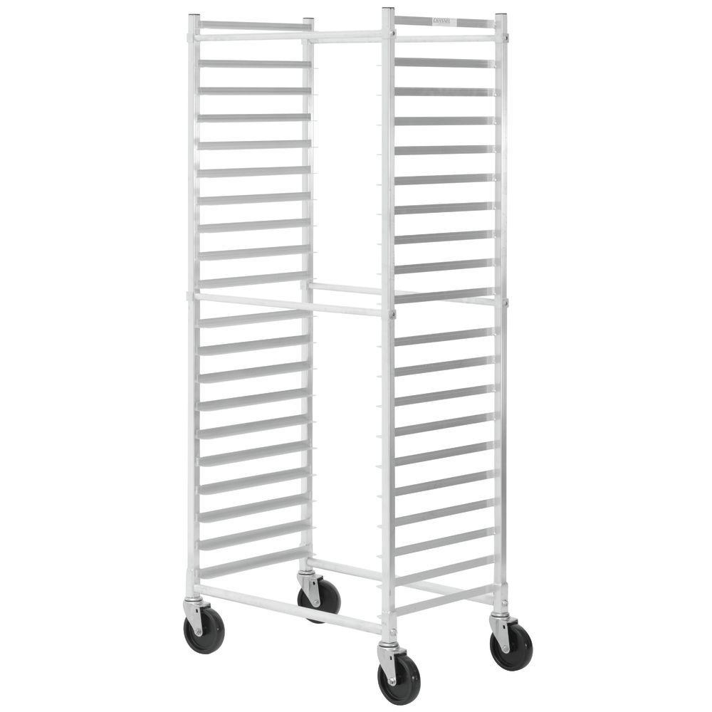 Hubert Aluminum 20 Pan Side Load Bun Pan Rack 28 L X 18 W X 70 H