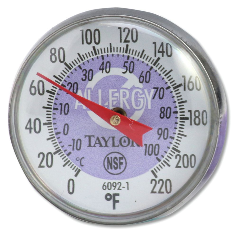 THERMOMETER, BABY DIAL, BI-THERM, PURPLE