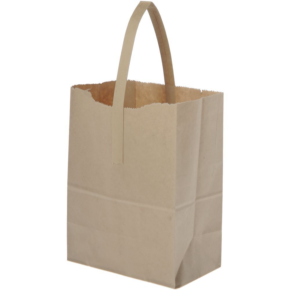 BAG, TOTER, PREP, 6-3/4X4-3/4X8-1/2, NATURAL