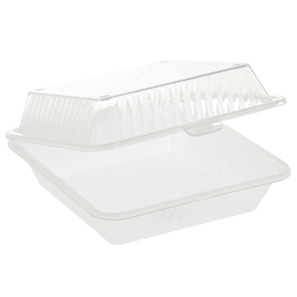 CLAMSHELL, ECO-TAKEOUTS, CLR, SINGLE ENTREE