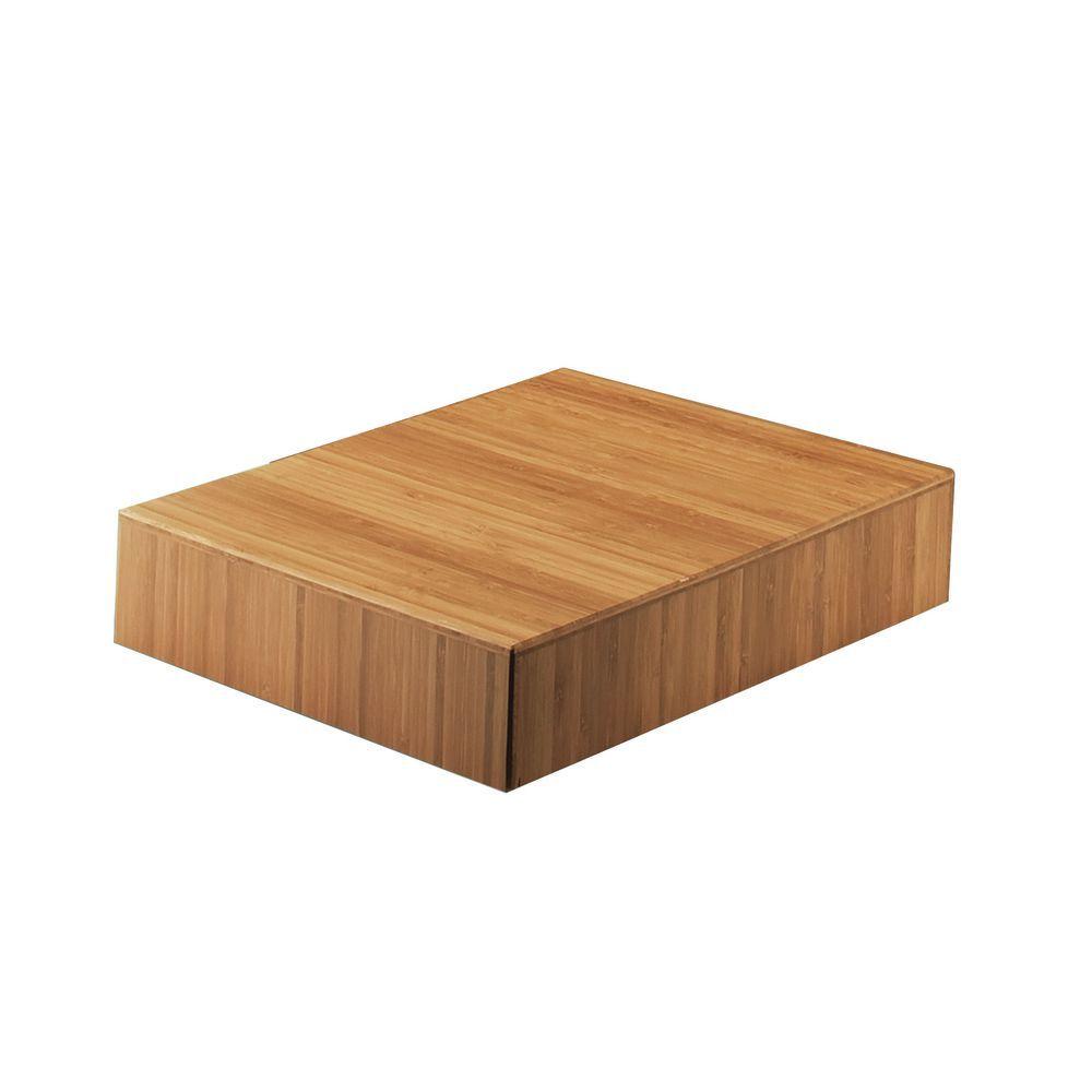 "Cal-Mil Bamboo Risers 12""L x 12""W x 3""H Square"