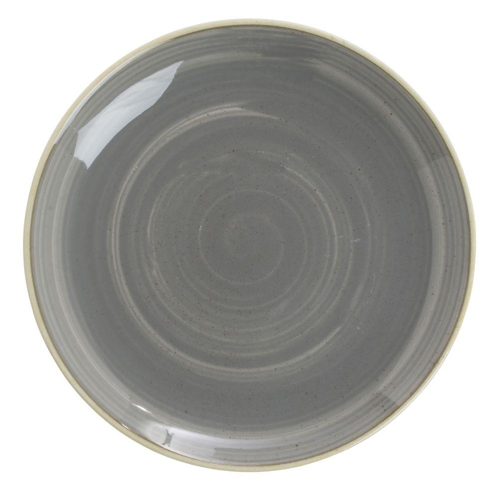 Churchill Super Vitrified Stonecast China Grey Coupe Luncheon Plate - 8 5/8\ Dia  sc 1 st  Hubert.com & Churchill Super Vitrified Stonecast China Grey Coupe Luncheon Plate ...