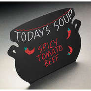 MARKER BOARD, SOUP KETTLE DESIGN