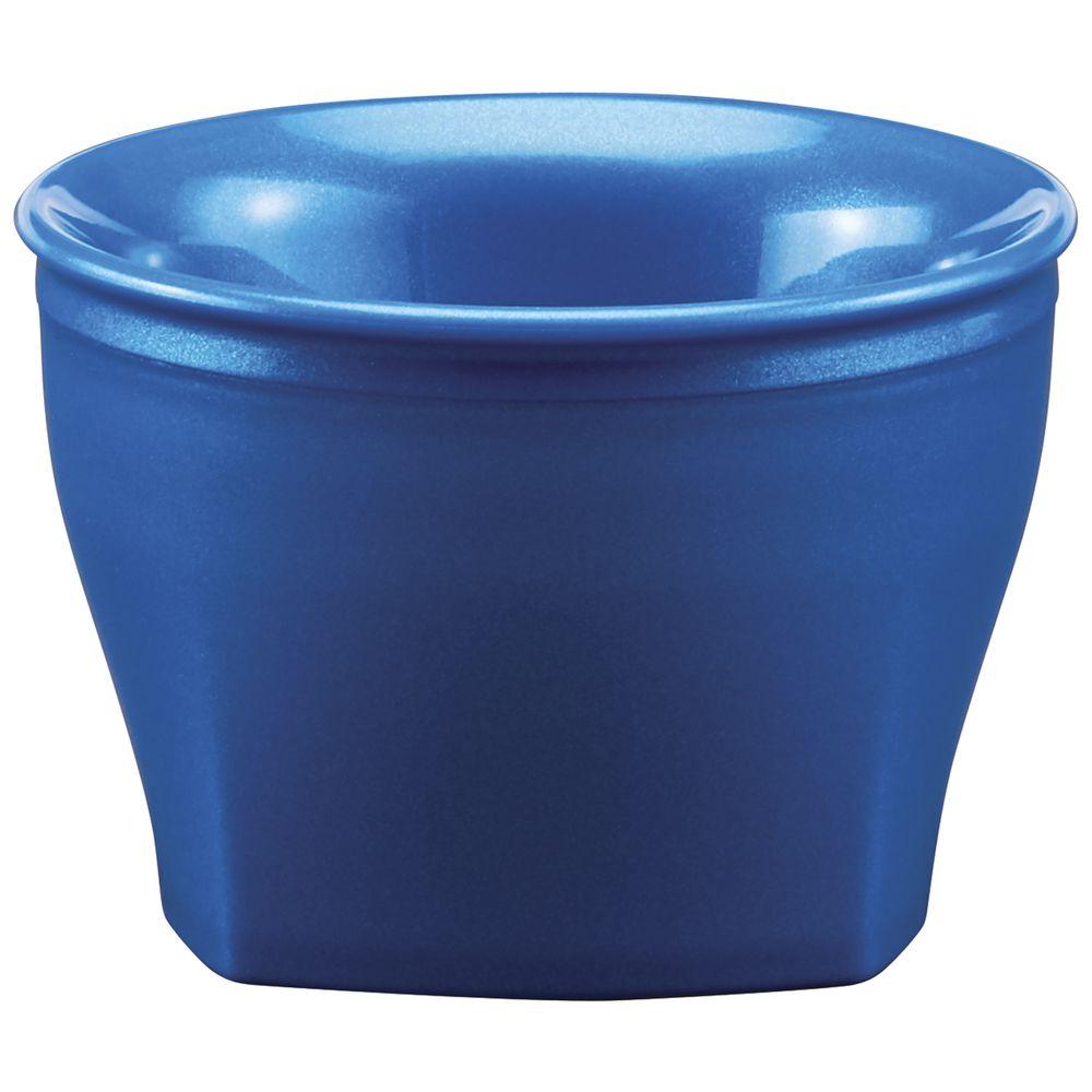 BOWL, 5 OZ, INSULATED, HARBOR, METALLIC BLUE