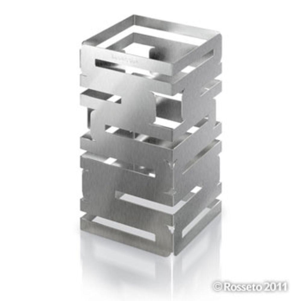 "Skycap Multi Level Risers 6""L x 6""W x 8""H Stainless Steel"