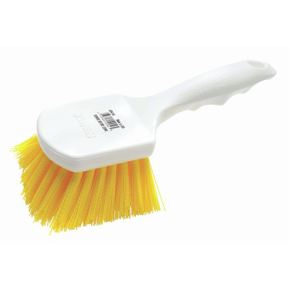 "Bottle Brushes With Yellow Bristles 8""L"
