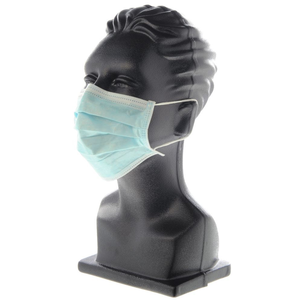 MASK, FACE, DISPOSABLE, EAR LOOPS