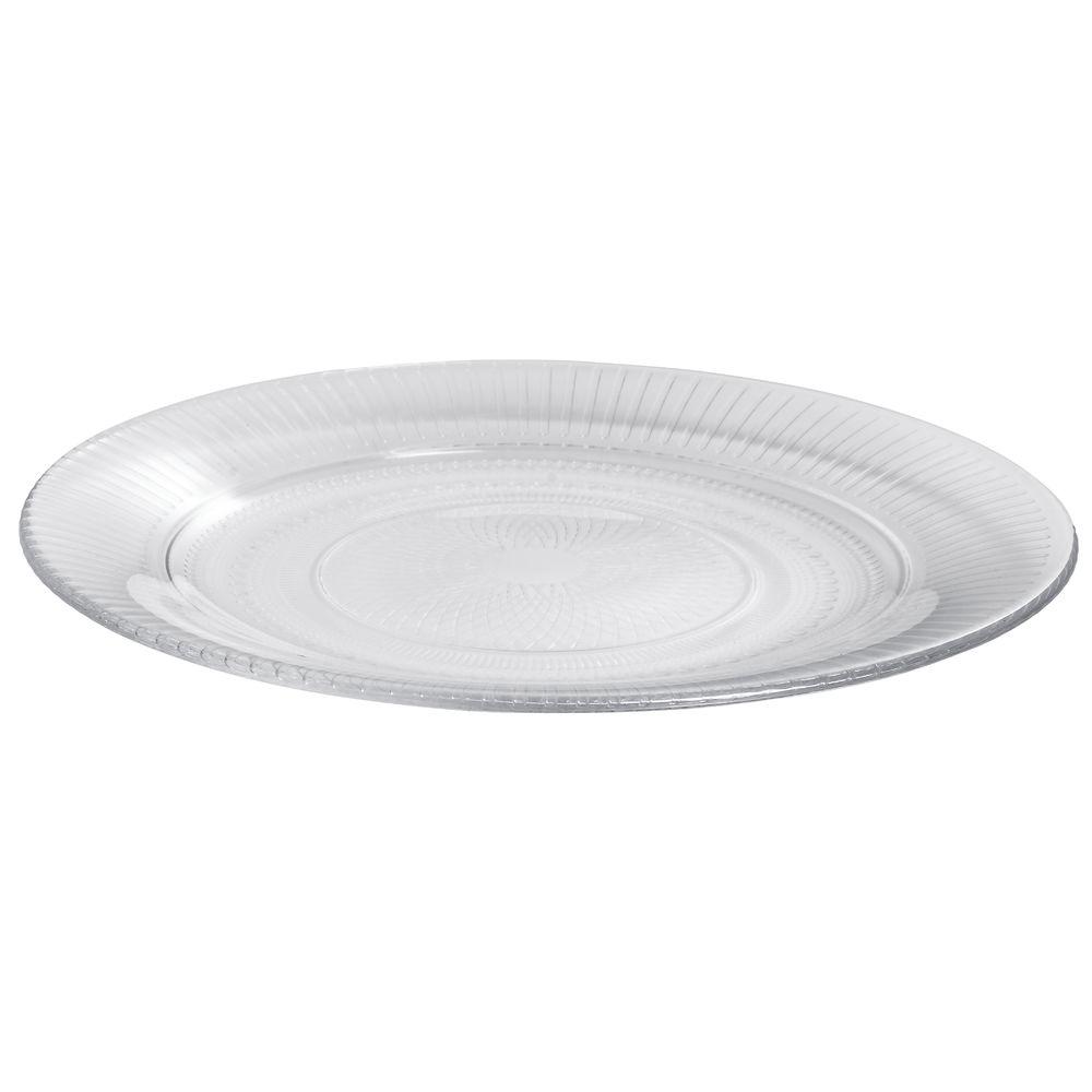 Arcoroc Louison Clear Glass Dessert Plate By Arc Cardinal 7 1 2 Dia
