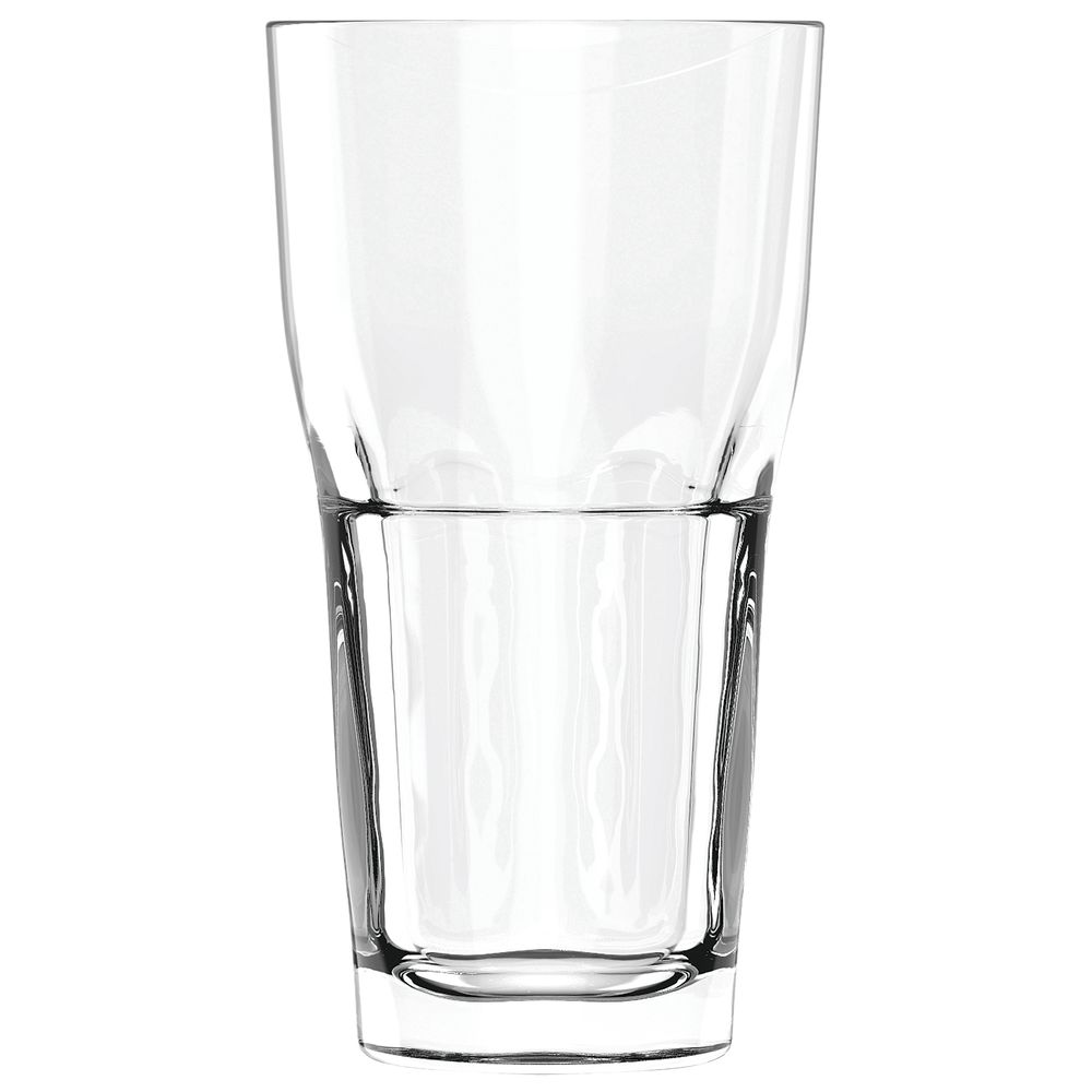 COOLER, GLASS, TRIBOROUGH, 22OZ, CS/24
