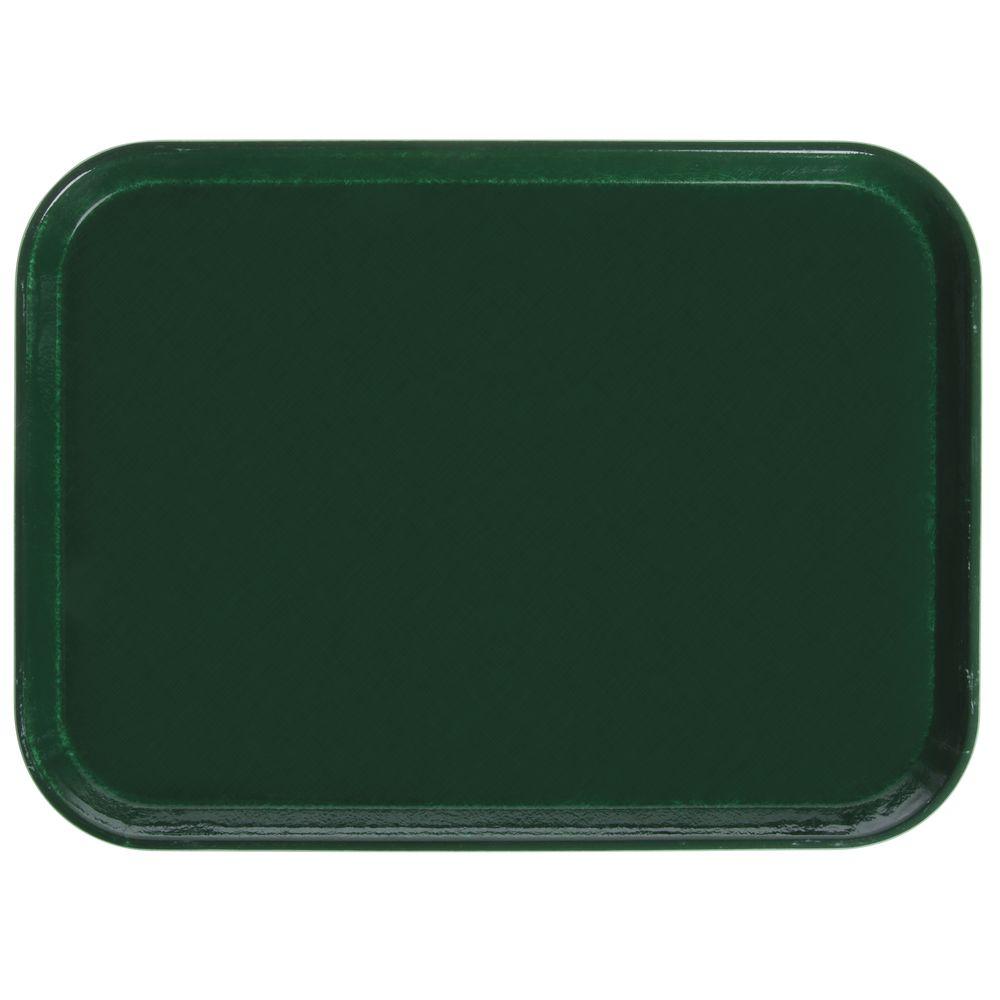 "Cambro Cafeteria Tray Sherwood Green Fiberglass 16""L x 12""W"