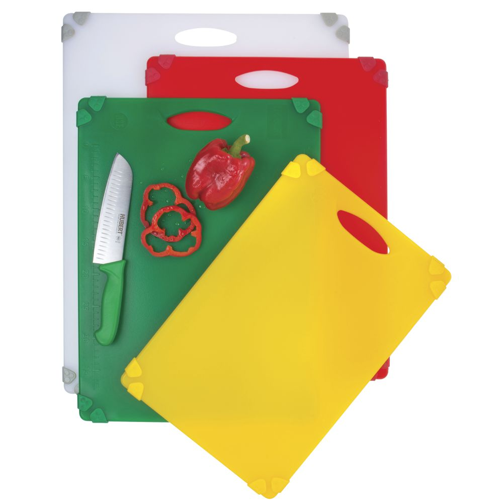 CUTTING BOARD W/GRIPPER, WHITE, 18 X 24