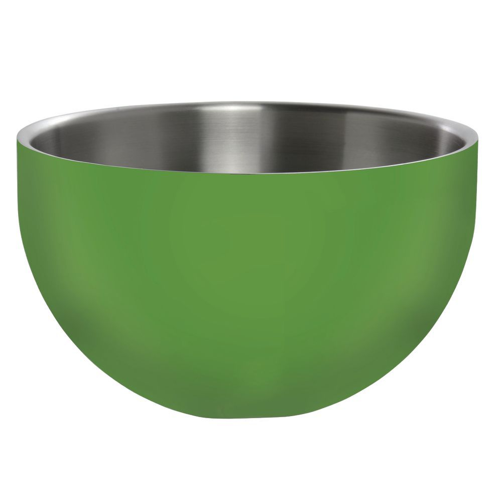 BOWL, DW, GREEN, ROUND, 9.5X5.25, STAINLESS