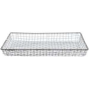 BASKET, CABO RECT WIRE, 18 X 13 X 2