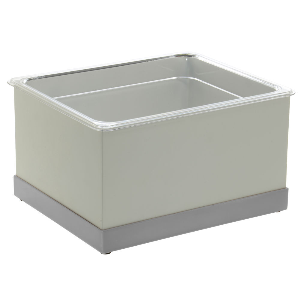 ICE HOUSING, LUXE, HALF SIZE, SILVER