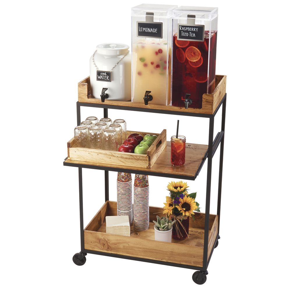 CART, BEVERAGE, MADERA COLLECTION